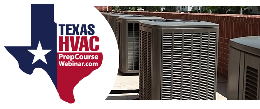 Texas HVAC Prep Course Webinar